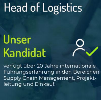 Head of Logistics