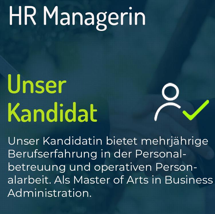 HR Managerin