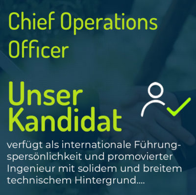 Chief Operations Officer