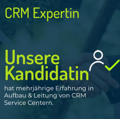 CRM Expertin
