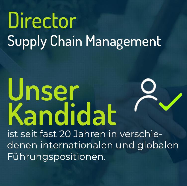 Director Supply Chain Management