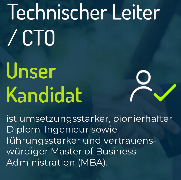 Technischer Leiter / CTO